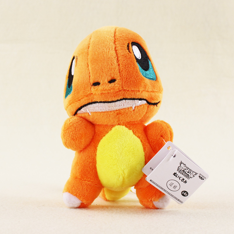 14cm Charmander Plush Toys High Quality Kawaii Anime Plush Toys Cartoon Charmander Gift for Kids