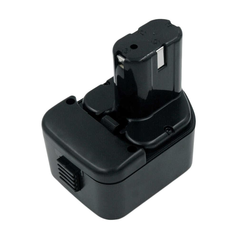 12V Ni-CD 2000mAh batería de la herramienta eléctrica inalámbrica para Hitachi EB1214S eb121212s EB1214L Eb1220bl Eb1220hl Eb1220hs Eb1220rs DS 12DVF3