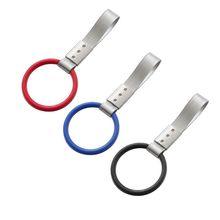 ПВХ круглые трусики с кольцом круг внутренняя ручка пристяжной талисман Дрифт крюк для метро поезд автобус автомобиль