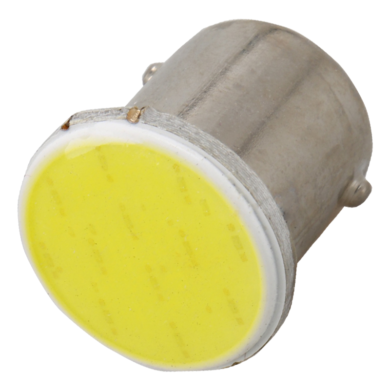 2PCS New Super Bright COB Lamps P21W 1156 BA15S Led Car Styling Auto Car Signal Reverse