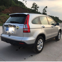 For Honda CRV Spoiler 2007 2011 CRV Roof Spoiler High Quality ABS Material Car Rear Wing