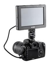 "V ILTROXใหม่ล่าสุดTFT 1280*800 HDMIเข้า/ออก7 ""นิ้วจอlcdสำหรับCanon Nikonโซนี่พานาโซนิคกล้องDSLRเป็นV Iltrox DC-70 II"
