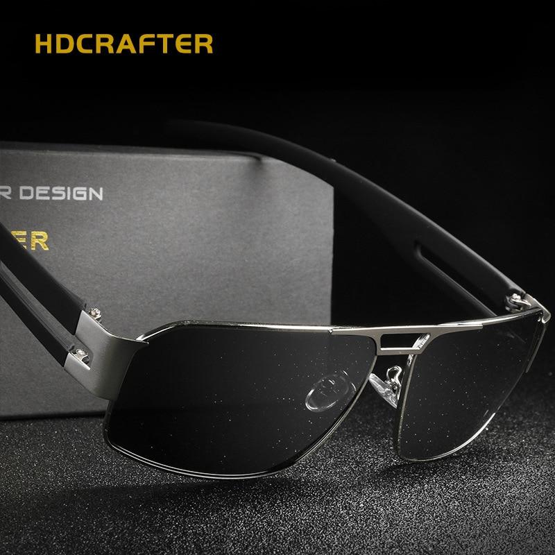 2018 Karstā pārdošana polarizēti vīrieši saulesbrilles klasika vīriešu braukšanas taisnstūris saulesbrilles zīmola UV400 ceļojumu vīriešu pārklājuma saulesbrilles