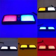 Hot 86LED Car Warning Light Sun Visor Panel Mounted 12 Modes Flashing Lamp for Emergency JLD цена