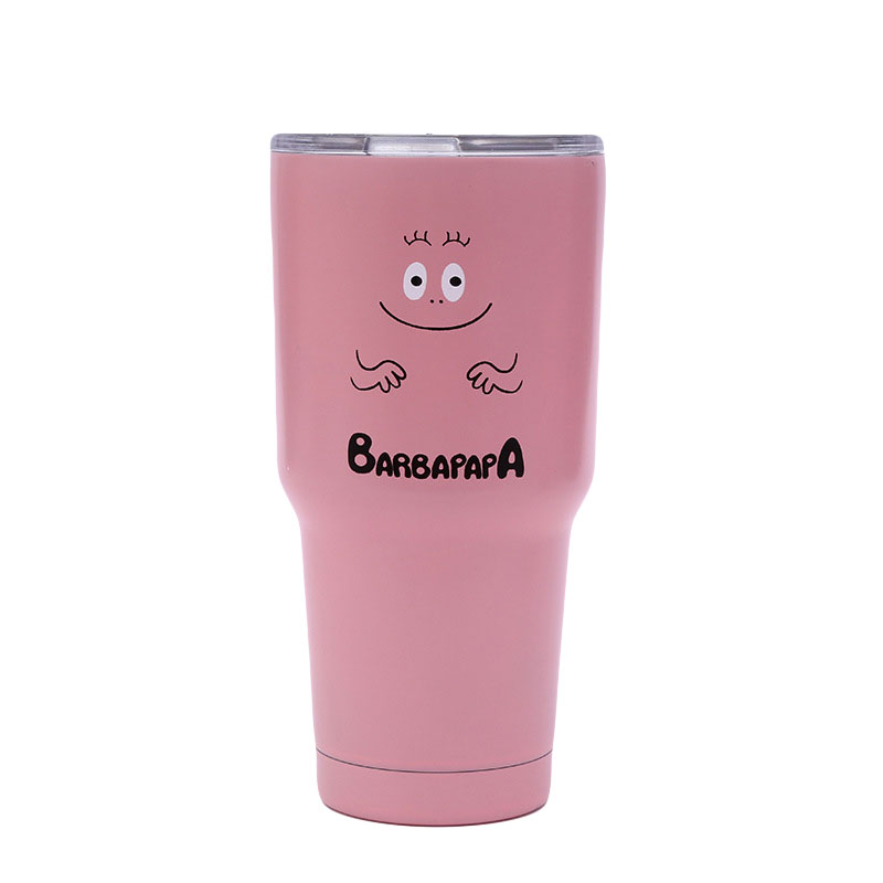 Bubble Blast X Barbapapa Tumbler Cup Vacuum Insulation Beer Wine Water Bottle Stainles Steel Mug Coffee Cu Finland Caneca taza de m&m