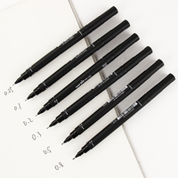 6pcs new portable drawing ultra fine line pen good chemical resistant high quality pen art markers.jpg 200x200