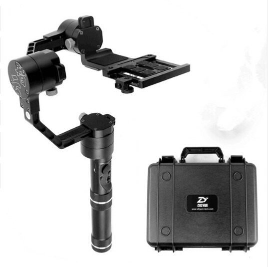 Zhiyun Crane 3 axle Handheld Stabilizer 3 axi gimbal for DSLR Canon Cameras Support 1 2KG