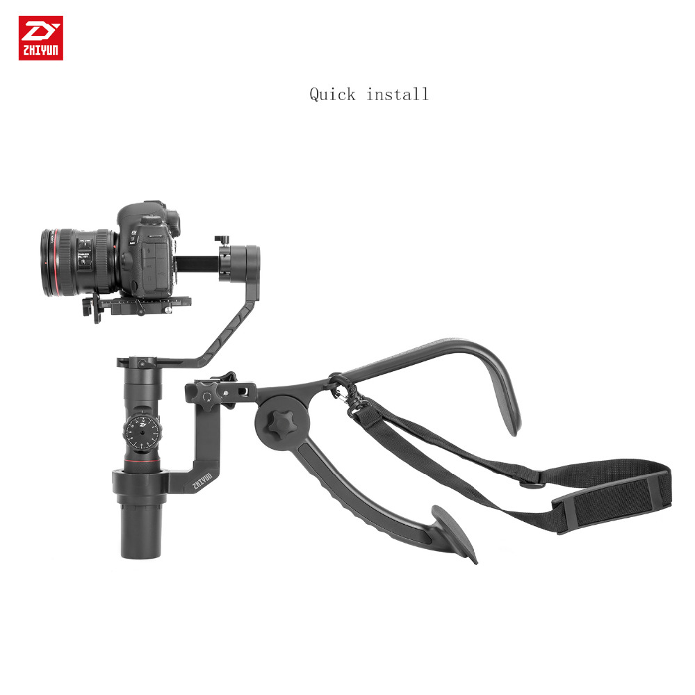 Zhiyun Crane 2 Cardan Accessoires TransMount Épaule Support De Support de Poignée Similaires comme Easyrig ReadyRig Atalas