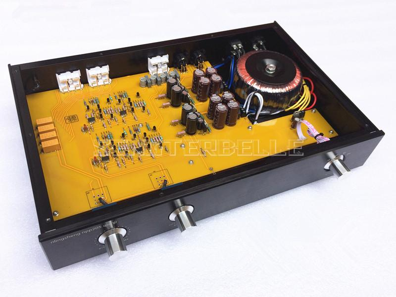 Finished NPP HiFi Preamplifier XLR Balanced Output Level Input Pre-amp Based on U.S. NPP Circuit 2018 new nobsound hi end luxury fully balanced amplifier pre amp hifi preamplifier xlr input with led refer to ml380s
