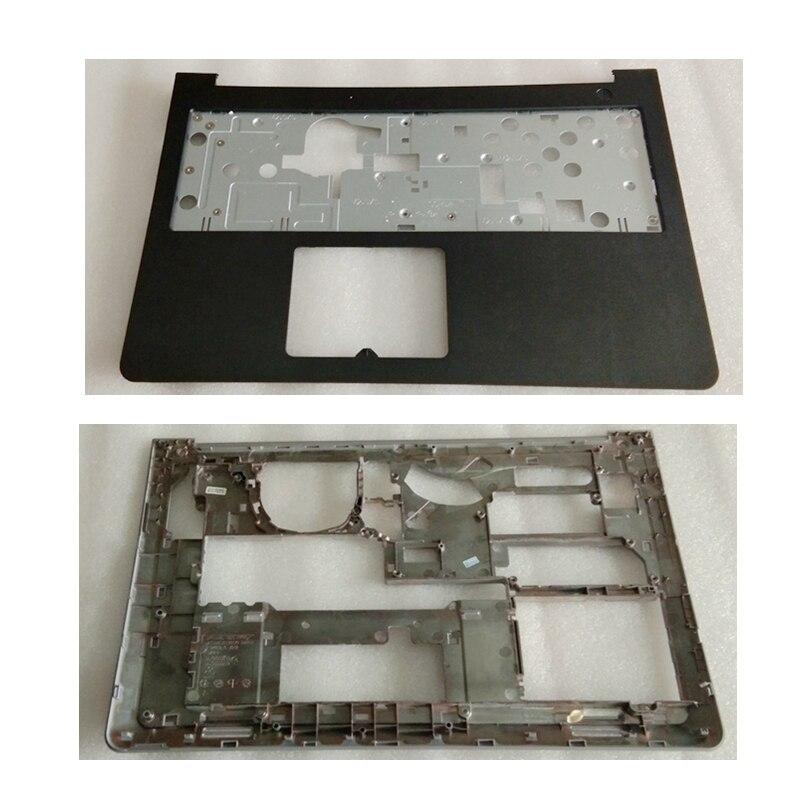 New For Dell for Inspiron 15-5000 5545 5547 5548 15M Laptop Palmrest Upper case+Base Bottom Cover Lower Case D P/N 0WHC7T