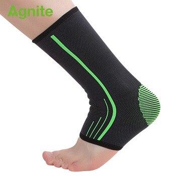 Agnite Wsparcie Kostki 1 sztuk ankle brace wsparcie kostki pasek chevillere sportowe enkelbrace kostki pomoc brace