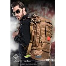 Militar mochila de viagem pacote de sacos de homem quente multi-funcional 17-inch laptop sacos de nylon de alta qualidade à prova d' água frete grátis