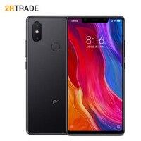 Оригинальный Xiaomi mi8seMi 8 SE 4 Гб оперативная память 64 Встроенная мобильный телефон Snapdragon 710 Octa Core 5,88 18,7: 9 полный экран 20MP камера 3120 мАч
