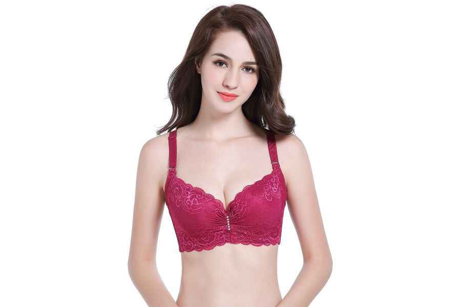 966ad25d7 ... Thin plus size bra cup adjustable push up side gathering furu mm Large  c cup e