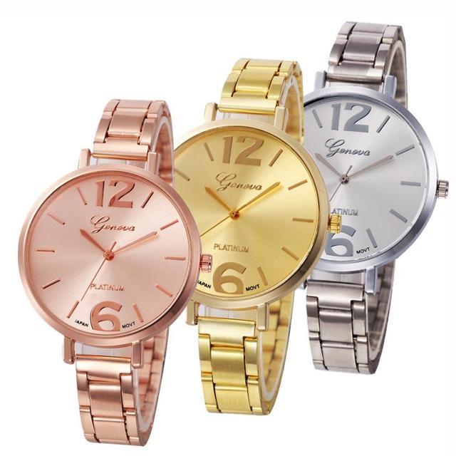 Fashion Watch Women Crystal Stainless Steel Analog Quartz Wristwatch Bangle Bracelet reloj mujer montre femme Relogio 17Jun20