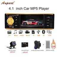 1 Din Car Radio autoradio 1din auto radios car multimedia player Setreo Bluetooth car audio Rear view camera FM Hands free call
