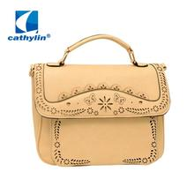 Cathylin 2016 Women Hand Bag High Quality Style Woman Messenger Bag Soft Woman Pu Leather Bag