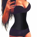 Women plus size shaper waist trainer long torso corset slimming belt waist cincher workout tummy girdles fajas fajas reductoras