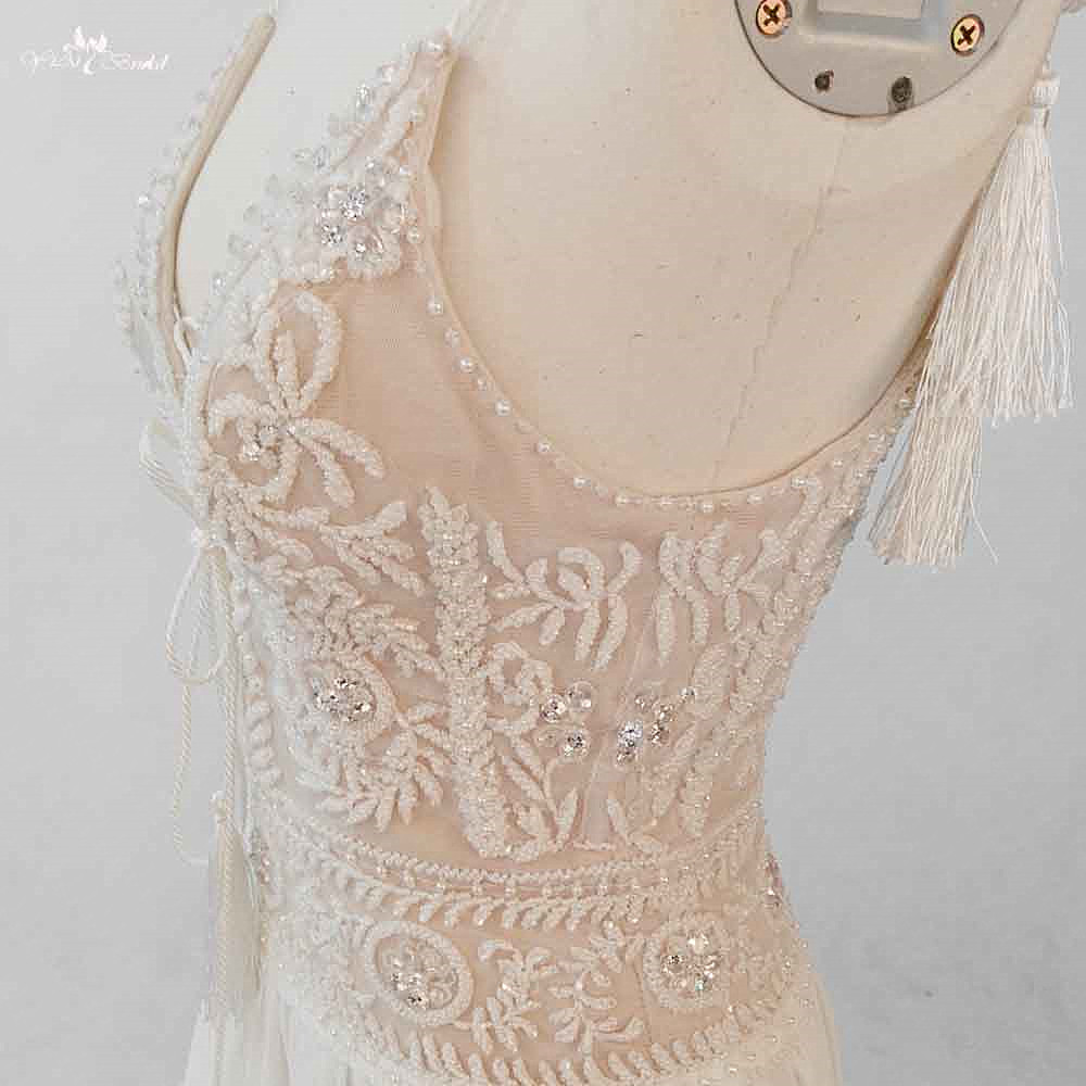 Bohemian Style Wedding Dress Patterns ✓ Labzada Blouse