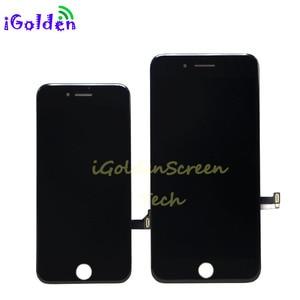 Image 2 - 100% נבדק מקורי OEM הטוב ביותר באיכות LCD עבור iPhone 8G 8 בתוספת 8 P 8 + LCD תצוגת מגע מסך Digitizer עצרת החלפה