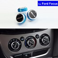 3 Pcs Car Air Conditioning Heat Control Switch AC Knob for Ford Mendeo / Focus 2005~2008 2009 2010 2011 2012 2013 Free Shipping