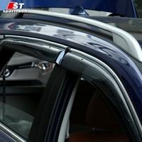 Smoke Window Visor Cover Trim Vent Shade Rain Sun Wind Guard Car Styling For NISSAN X