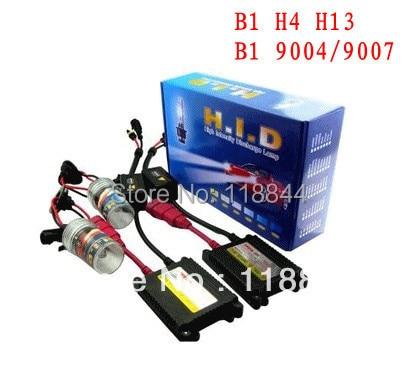 H4-3 H/L Hi/Low one xenon moving bulb HID xenon KIT SET 35W (Bi-xenon hid conversion kit) Freeshipping by China post
