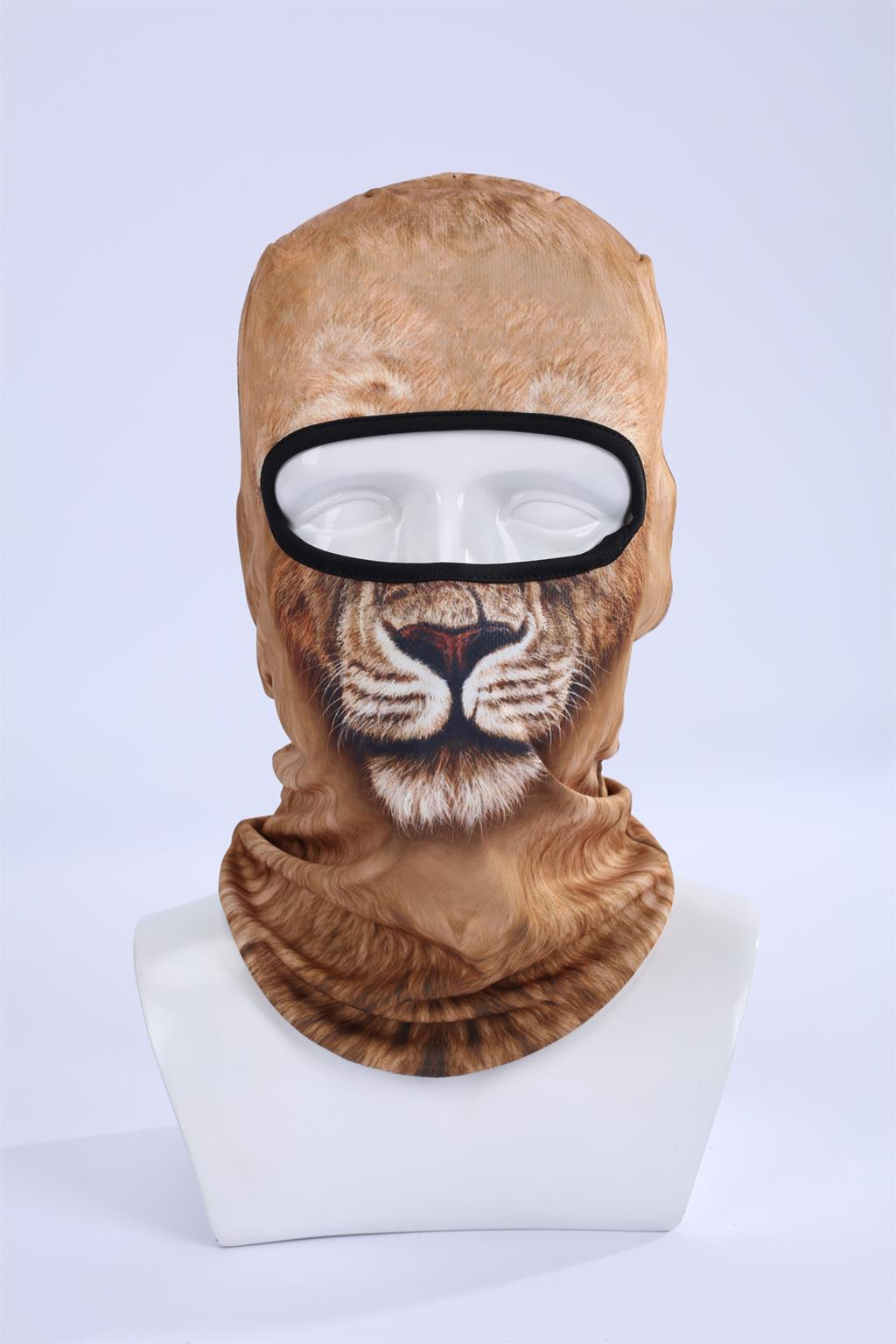 Hot Sale 2017 COOL ! 3D Animal Ski Hood Hat Veil Balaclava Full Face Mask Outdoor Sports Bicycle Cycling Ski Masks  BBB04 women beanie new hot sale 3d zebra animal hood hat balaclava full face mask outdoor sports bicycle cycling ski motorcycle masks