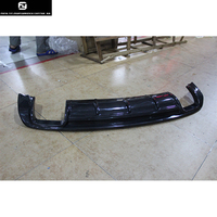 A3 limousine Carbon Fiber rear bumper lip diffuser for Audi A3 limousine sedan 13 16