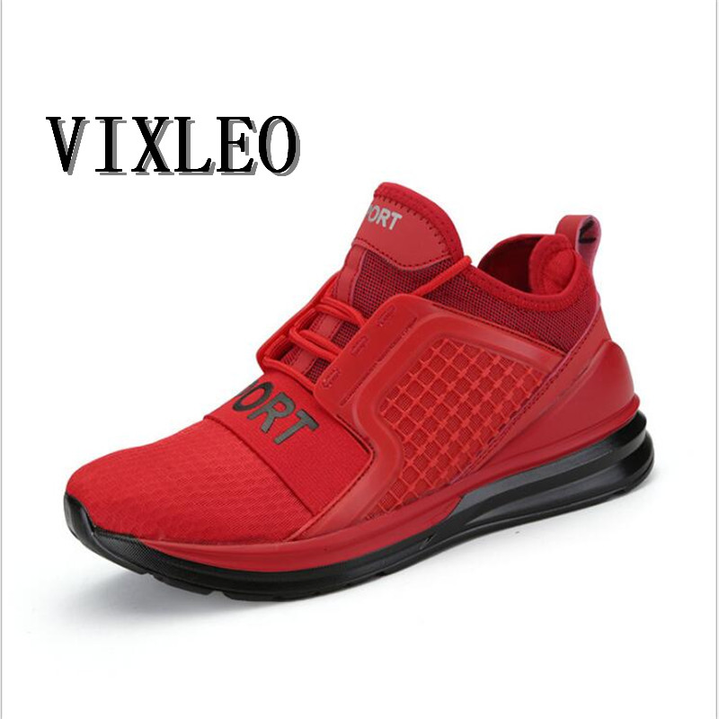VIXLE 2017 High Quality Men Ultra Boost Running Shoes Breathable Damping Tactical Sneaker outdoor Men Sports Shoes Size 36-45