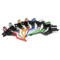 7 8 22mm Universal CNC Motorcycle Clutch Hydraulic Brake Levers Pump Master Cylinder Handle For