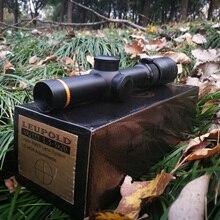 Leupold 1,5-5X20 быстрая мишень для охоты короткие Riflescoepes Mil-dot с подсветкой тактический для страйкбол Ружейная стрельба