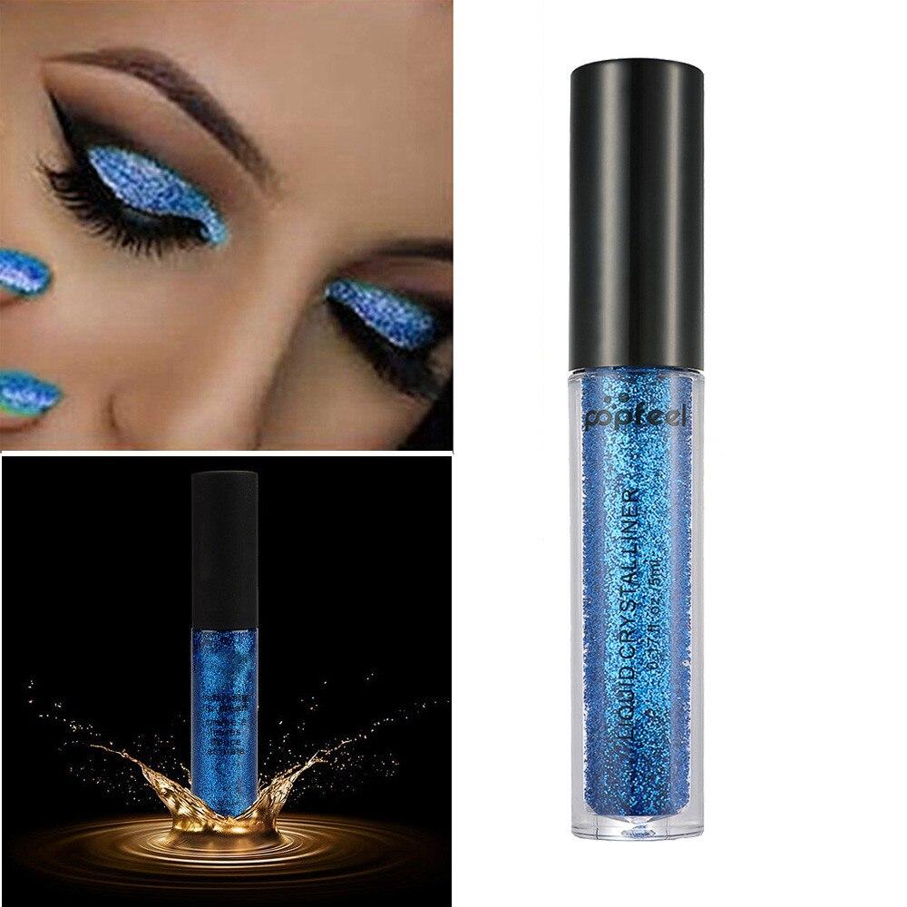 Hhff Roll Pearl Eye Shadow Powder Navy Blue Beauty & Health Beauty Essentials