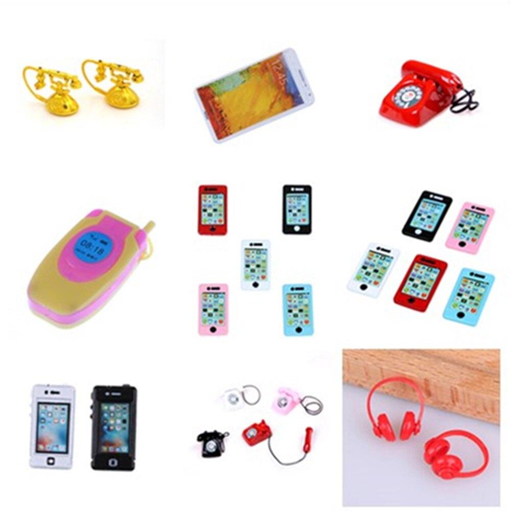 1//12 scale dollhouse miniature dollhouse accessories mini mobile cell phone ^VvV