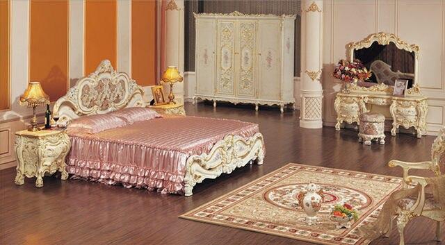 Slaapkamer Meubels Wit : Online shop barok meubelen wit kaptafel luxe slaapkamer meubilair