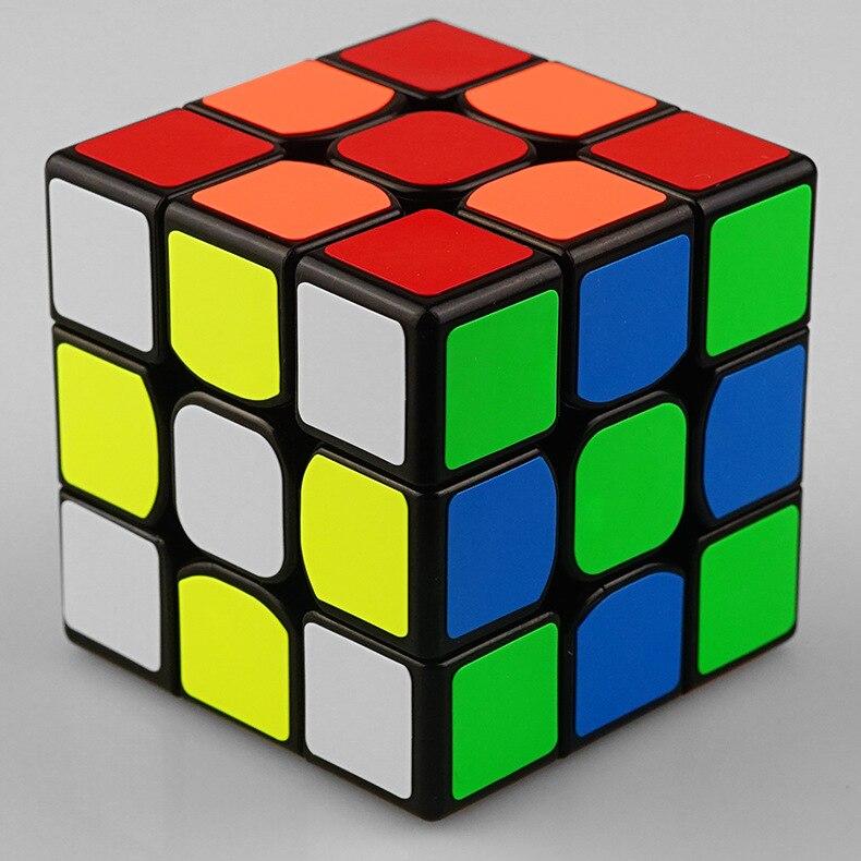 Clasic colorat 3x3x3 Trei straturi Magic Cube Profisional - Jocuri și puzzle-uri - Fotografie 4