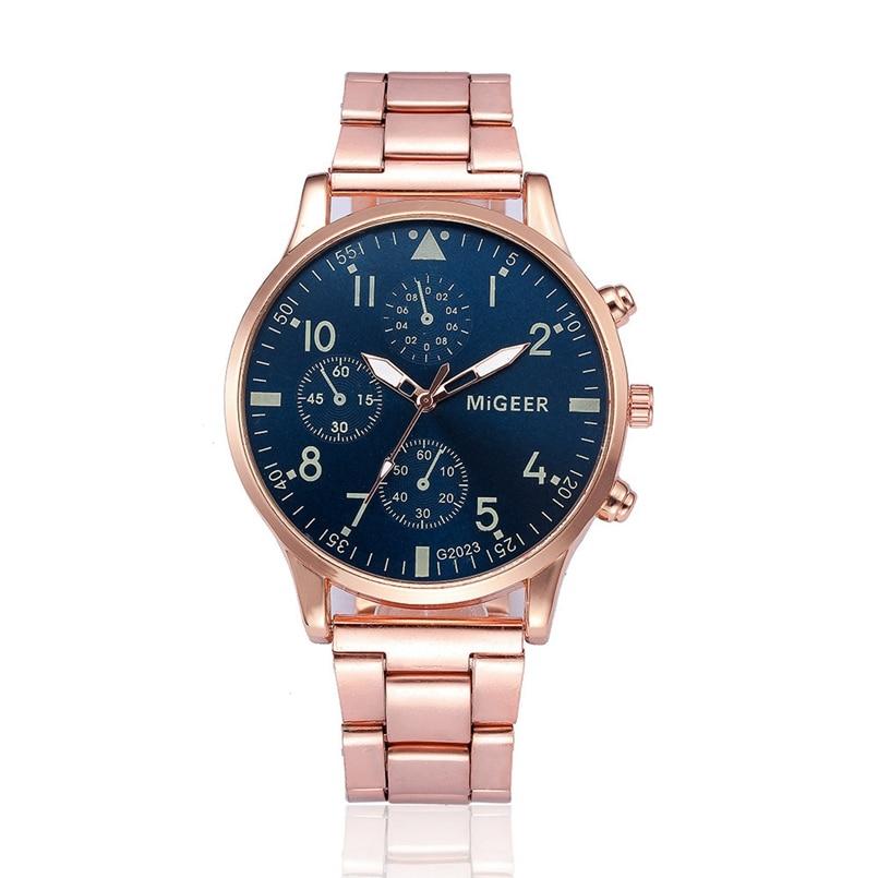 New Arrive 2018 Luxury Full Steel Watch Men Business Casual Quartz Wrist Watches Military Wristwatch Waterproof Relogio
