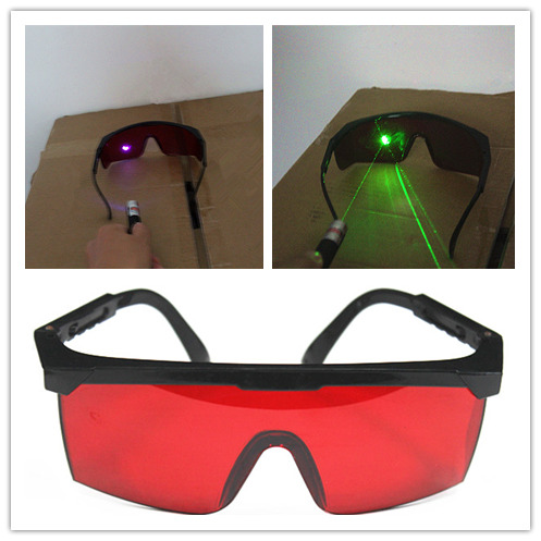 96pcs 400nm-540nm Laser safety protective glasses glasses 405nm purple blue laser 532nm Green Laser eyewear Eye Goggles