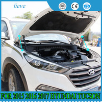 for 2015 2016 2017 HYUNDAI TUCSON 3TH front hood Engine supporting Hydraulic rod Strut spring shock Bars bracket