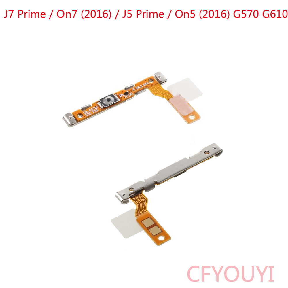 G570 G610 Power On/Off Switch Button Flex Cable For Samsung Galaxy J7 Prime / On7 (2016) / J5 Prime / On5 (2016)