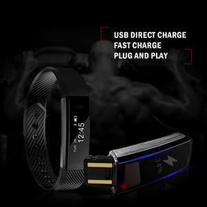 Image 5 - TK47 Smart Wristband Fitness Tracker Band Bluetooth Sleep Monitor Watch Sport Bracelet for ios Android Phone pk Fit Bit Mi 2