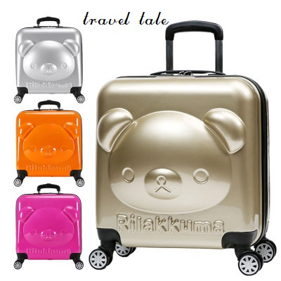Rolling-Luggage Travel Tale Spinner Cartoon Children Suitable-For PC Easily 18inch 100%Pc
