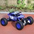 1:18 RC Автомобилей 4WD 2.4 ГГц Rock Crawlers Митинг восхождения Автомобиль 4x4 Двойной Motors Bigfoot Модель Автомобиля Дистанционного Управления Внедорожных Транспортных Средств игрушка