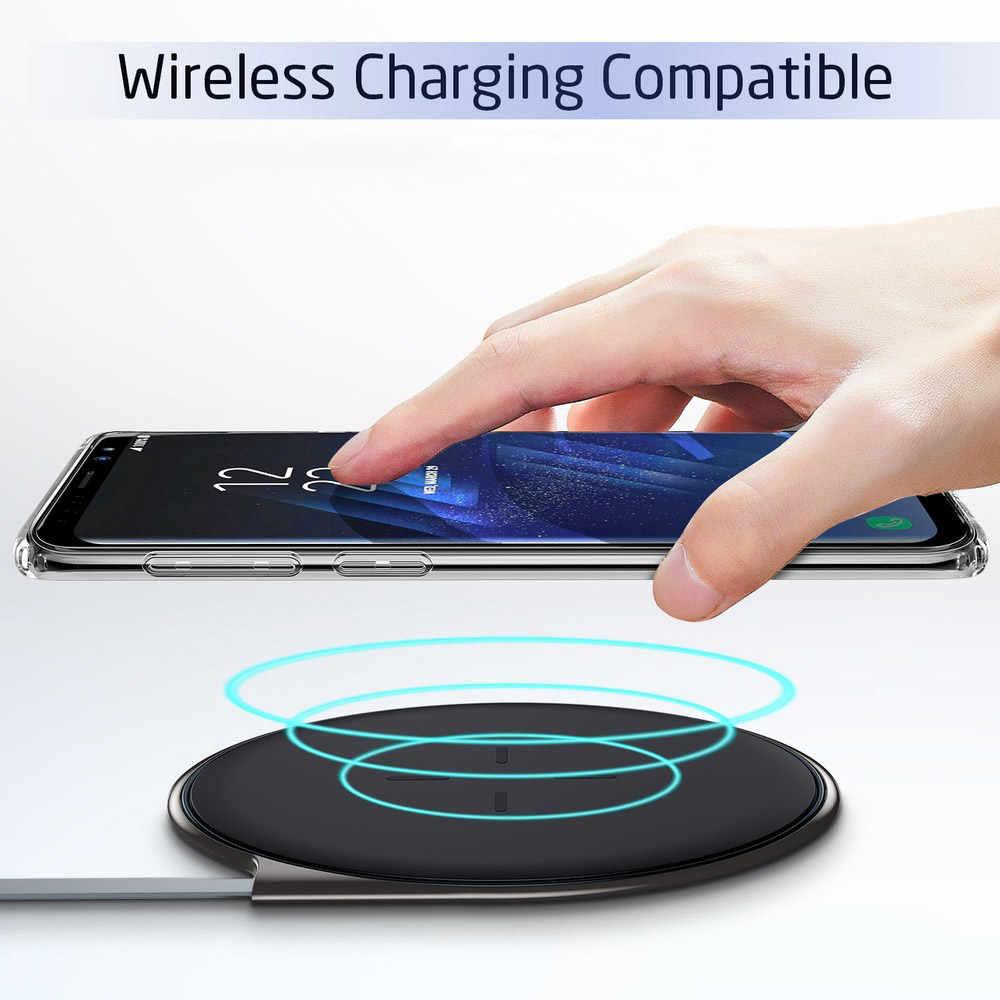 Soft Case Para Samsung Galaxy S10 S9 S8 A8 Plus S3 S4 S5 S6 S7 Borda Casos Claros TPU Para samsung Nota 9 8 S10 Lite A9 A9 Estrela A9S