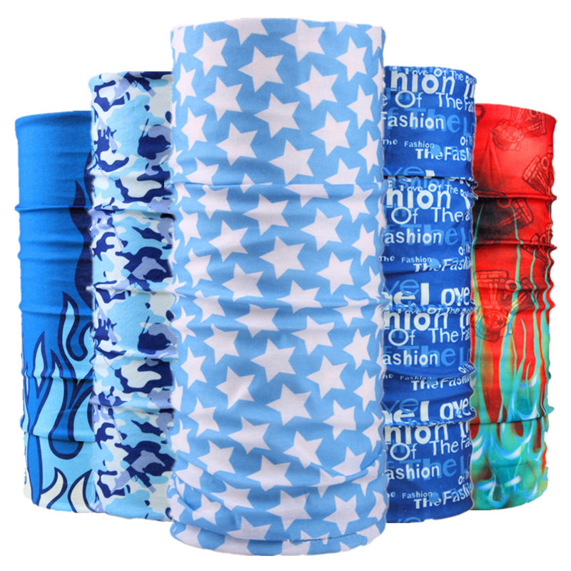buffe Summer Outdoor Sports Scarf Cycling Bandana Bicycle Bike Face Shield Mask Riding Neck Gaiter   Headwear   For Female Male