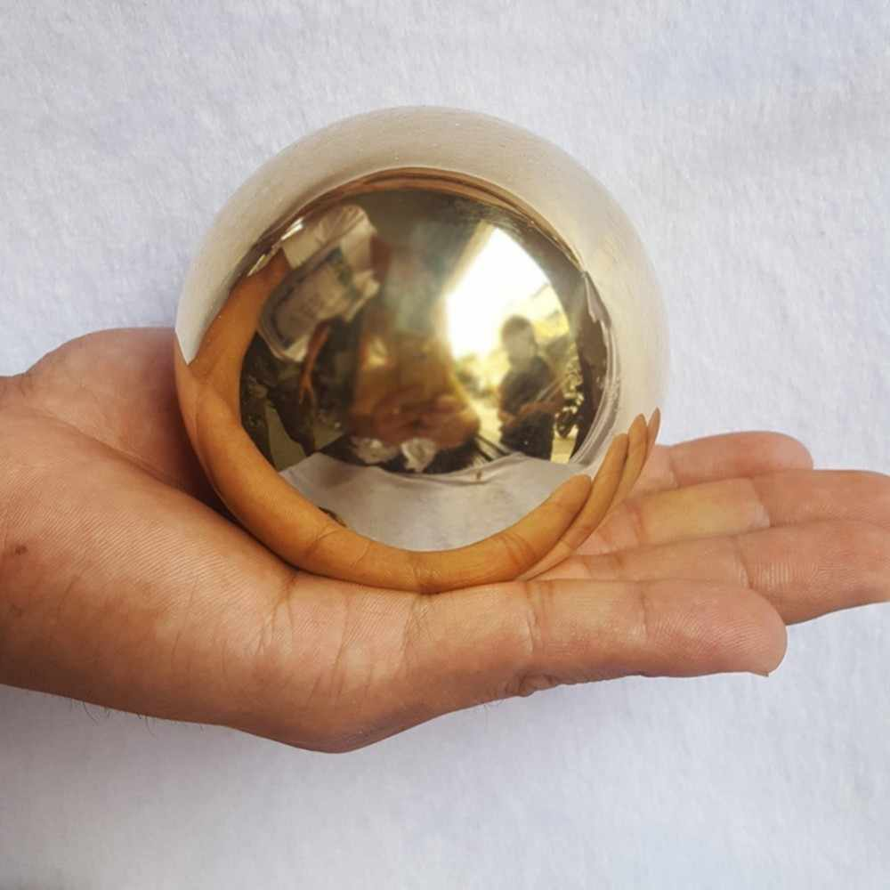 201 Stainless Steel Titanium Gold Hollow Sphere Dekoratif Logam Emas Bola Dekorasi Rumah Magic Ball