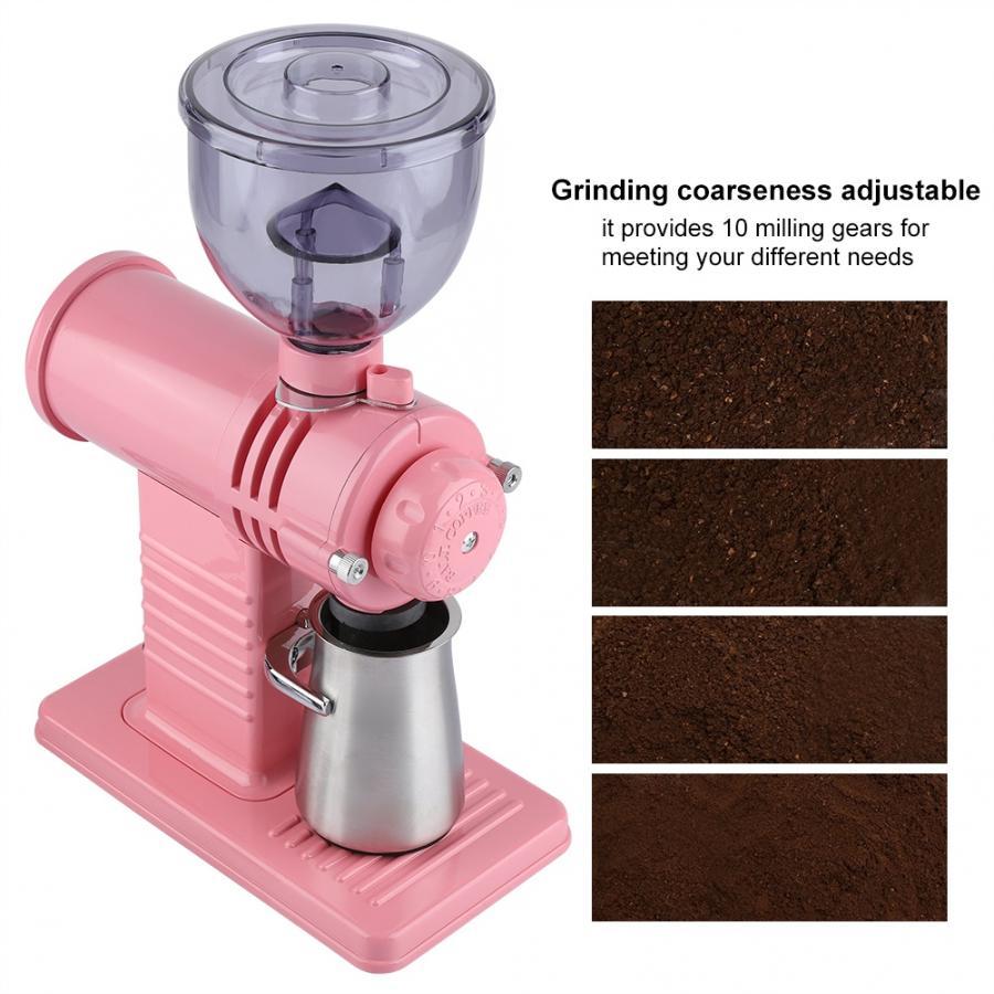 Électrique 220 V StainlessSteel Meulage Fraisage Machine Coffee Bean grinder Burr S