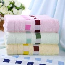100% toalla de baño de fibra de bambú de toallas de baño para adultos 140 70 sólido marca plaid textiles para el hogar toalhas de toalla de playa de baño de regalo