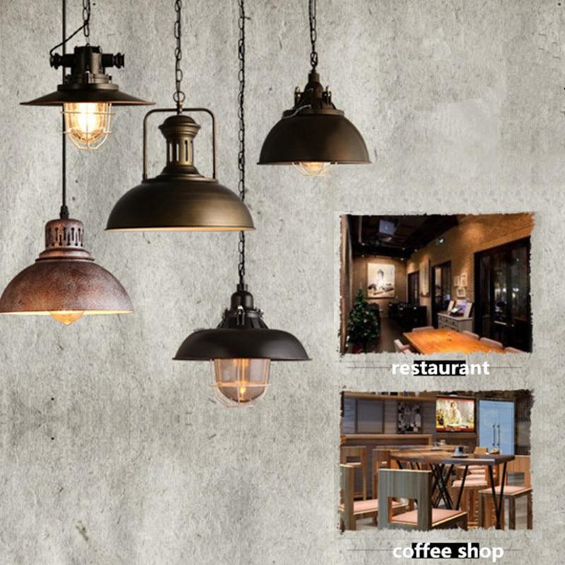 Aliexpress Com Buy Dining Room Retro Pendant Lamps: Aliexpress.com : Buy Vintage Loft Pendant Lights Single