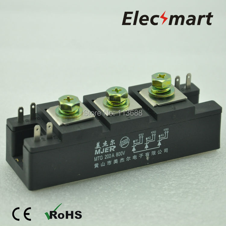 все цены на Non-isolated Thyristor Module MTG200A 1600V онлайн